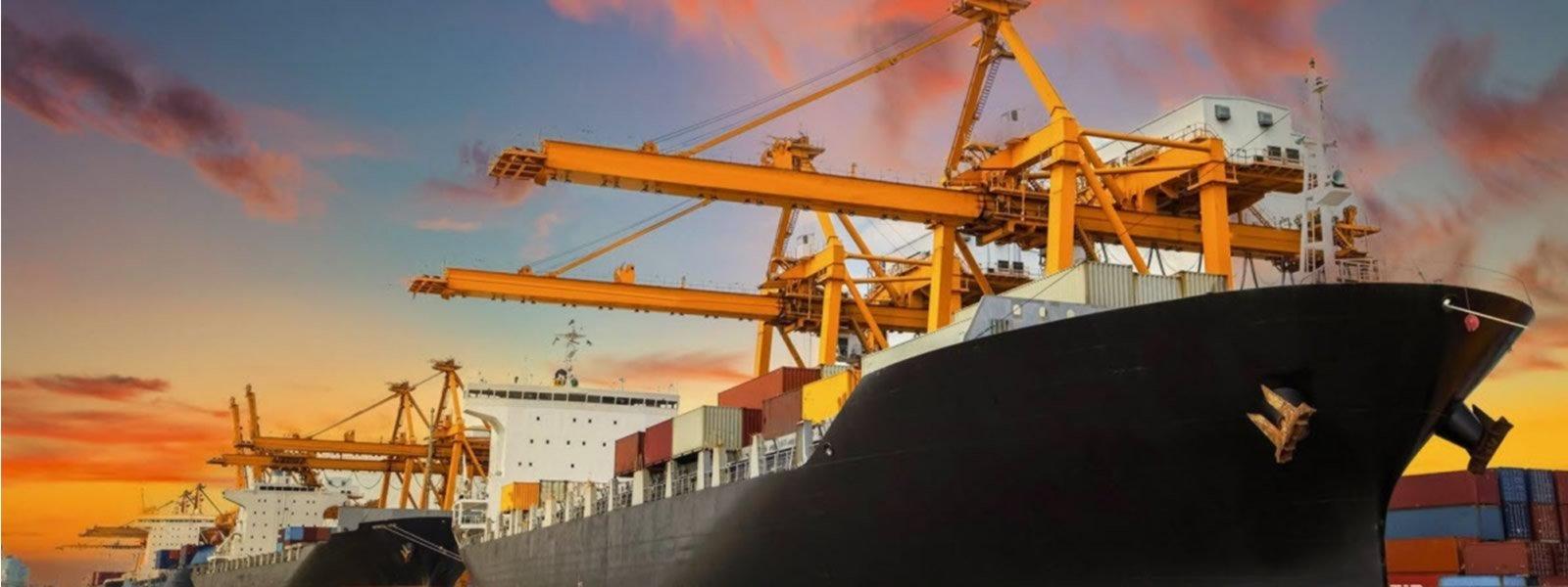 cargueros en puerto